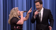 Kelly Clarkson Jimmy Fallon