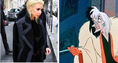 Kim Kardashian comparison cruela deville