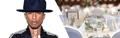 Pharrell Williams and Bewleys Hotel Leeds