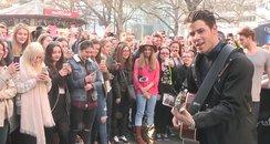 Nick Jonas acoustic at Capital