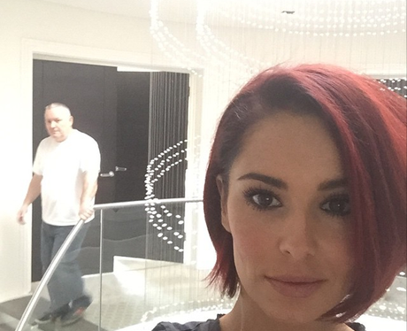 Cheryl Cole new red hair