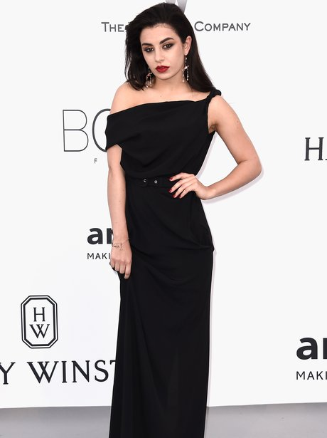 Charli XCX Black Dress Cannes 2015