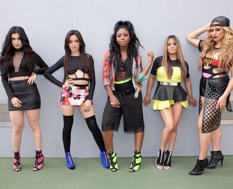 Fifth Harmony posing
