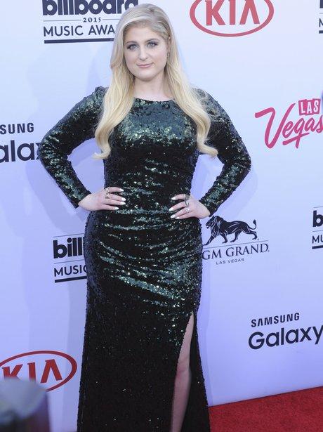 Meghan Trainor Billboard Music Awards 2015 Red Car