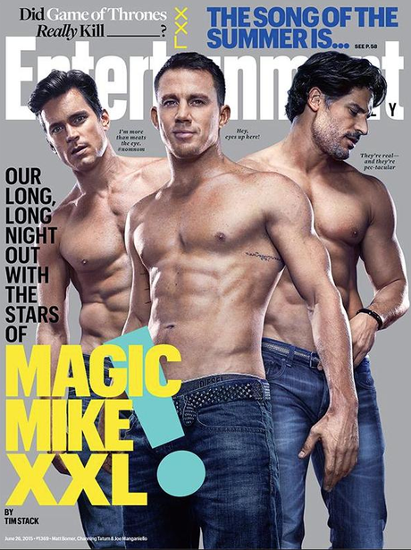 Magic Mike Cover Entertainment Weekly