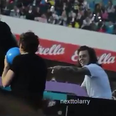 #Larry on stage