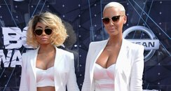 Blac Chyna and Amber Rose BET Awards 2015