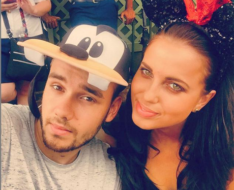 Liam Payne and Girlfriend Disney