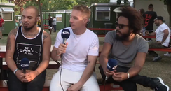 Major Lazer Wireless Festival 2015