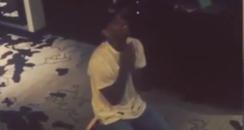 Chris Brown Instagram video