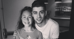 Zayn Malik and Malay's daughter Instagram