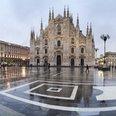 Milan city centre duomo