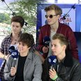 The Vamps backstage at Fusion Festival 2015