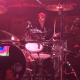 Justin Bieber in Indiana bar playing drums