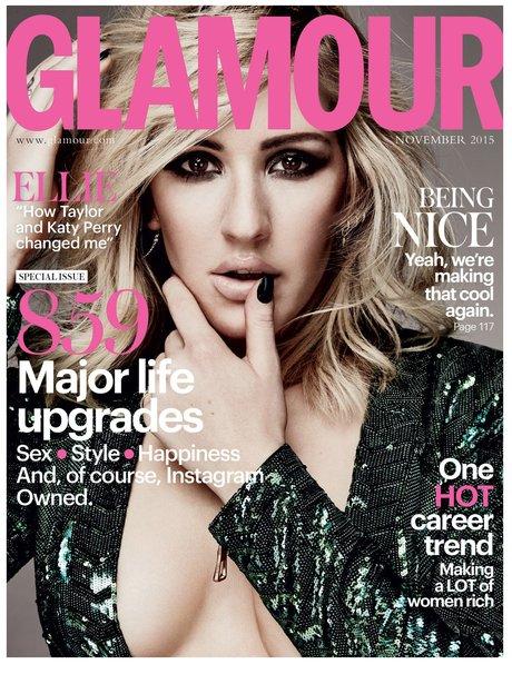Ellie Goulding Glamour Magazine 2015