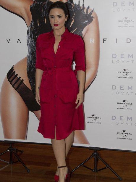 Demi Lovato Red Dress