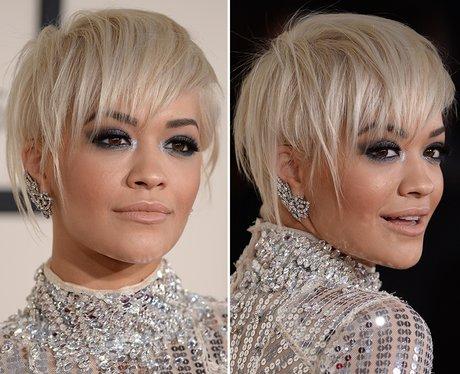 Rita Ora Grammys's Short Hair