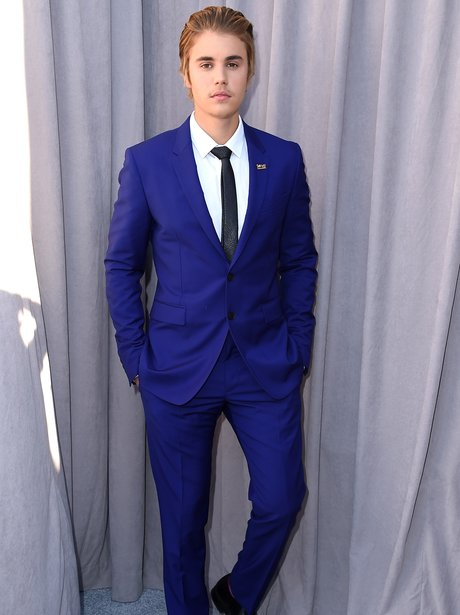 Who needs to wear a black suit when you can look this good in