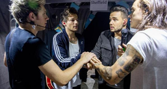 One Direction backstage