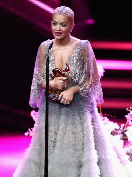 Rita Ora at the Bambi Awards