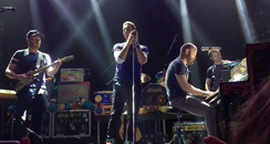 Coldplay Belasco Theater Performance 2
