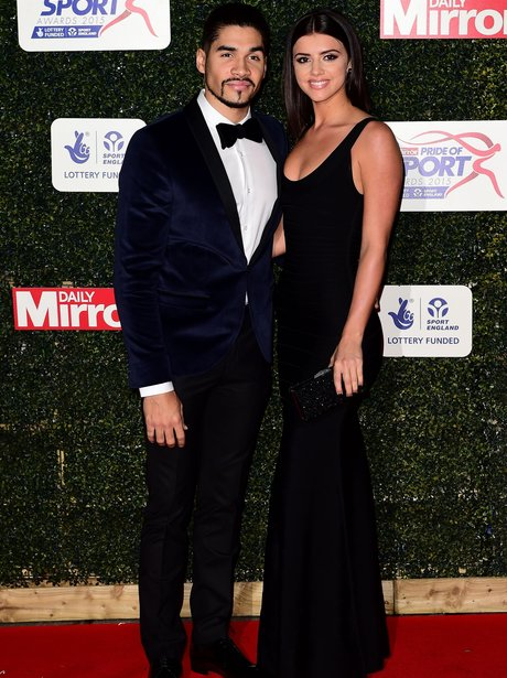 Lucy Mecklenburgh louis smith pride of sport award