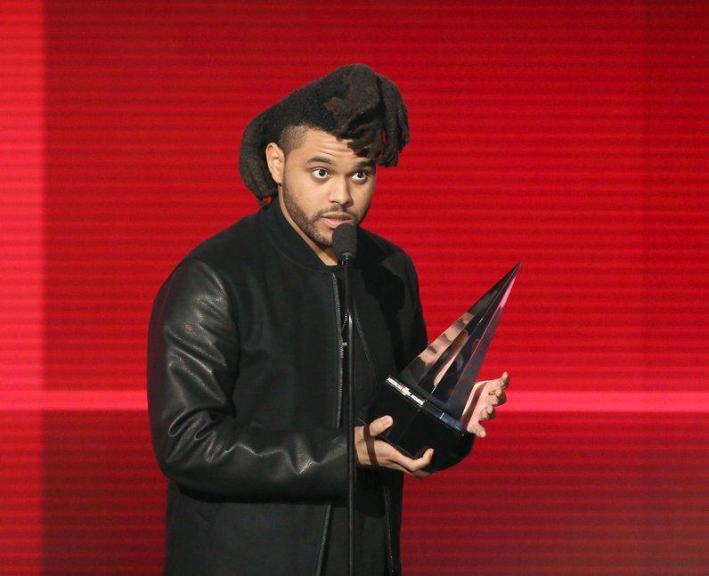 The Weeknd American Music Awards 2015 Winner