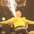 Psy firework boobs