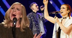 Adele Olly Alexander Jess Glynne Brits Nominations