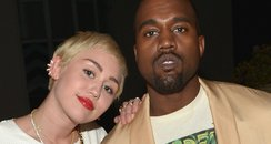 Miley Cyrus with Kanye West