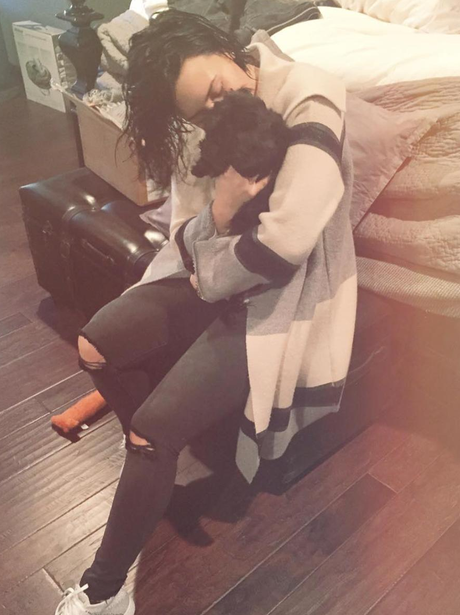 Demi Lovato Dog Instagram