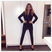 Image 5: FM Millie Mackintosh in black jumpsuit ahead of fa