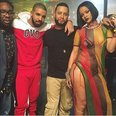 Rihanna & Drake 'Work' music video BTS