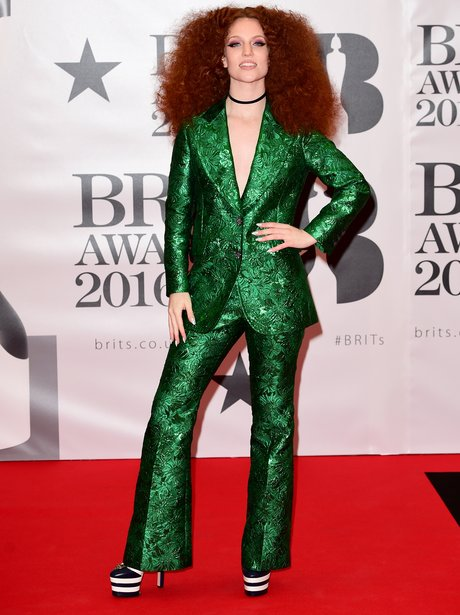 Jess Glynne Red Carpet Arrival Brit Awards 2016