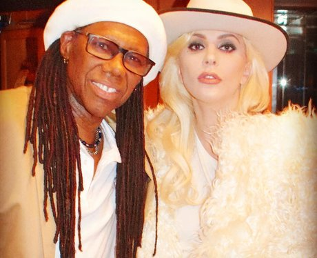 Lady Gaga is in the studio with Nile Rodgers