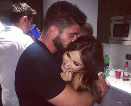 Vicky Pattison and Rogan O'Connor