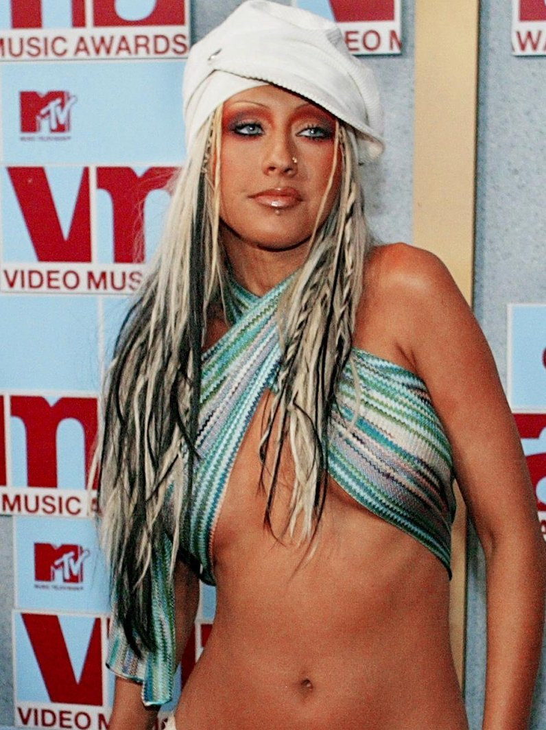 MTV VMA's crazy outfits Christina Aguleria