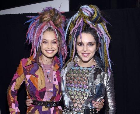Gigi Hadid and Kendall Jenner New York fashion