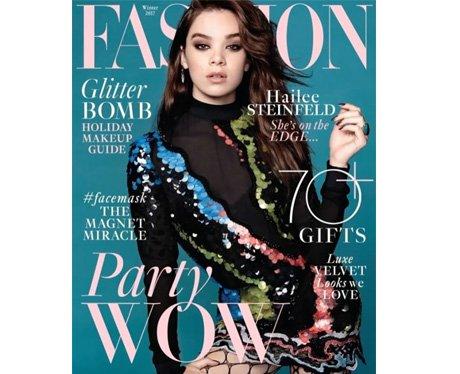 Hailee Steinfeld for Fashion magazine