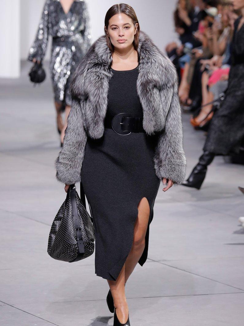 New York Fashion Week Catwalk Ashley Graham for Mi